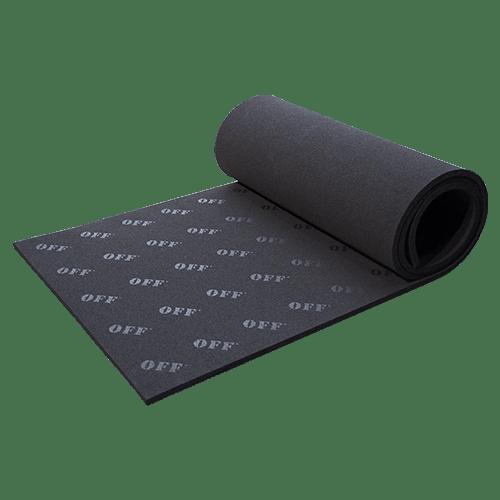 🗯 Use a sound-absorbing mat