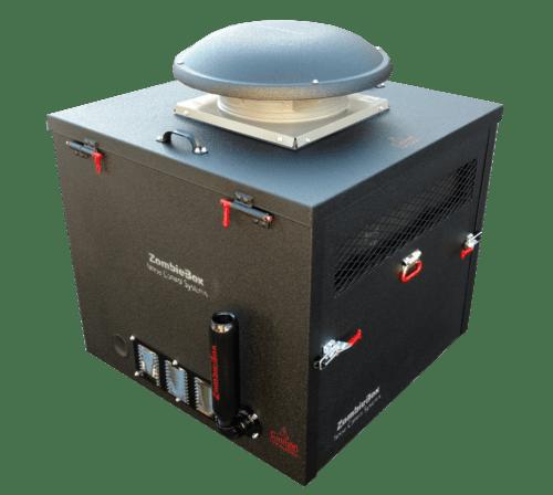 A portable soundproof enclosures ZombieBox