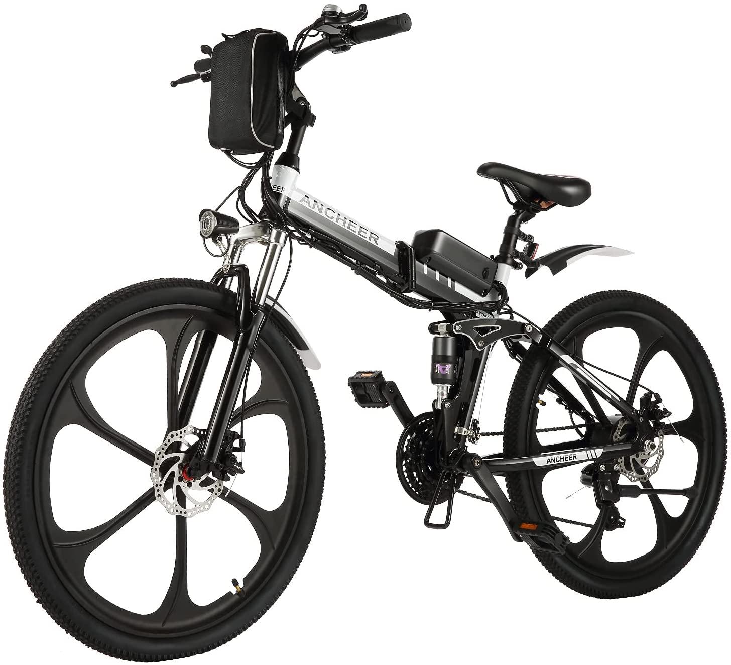 ANCHEER Folding Electric Commuting/Mountain Bike