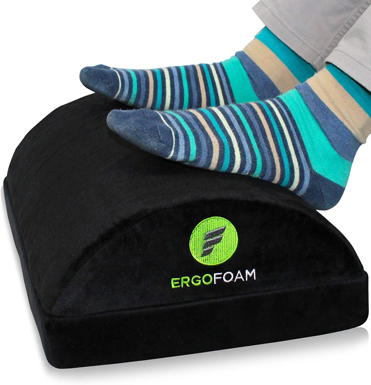 ErgoFoam Adjustable Foot Rest Cushion